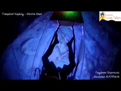 Transparent Kayaking Tangalooma Wrecks   Tangalooma 4WD Tours   Moreton Island Tour   Sunset Safaris