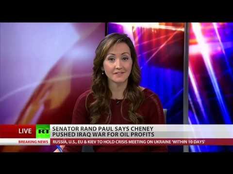 Rand Paul: Cheney started Iraq war to enrich Halliburton