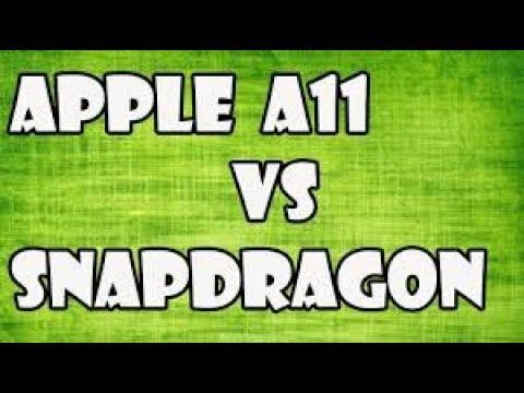 SNAPDRAGON 835 VS APPLE A11 BIONIC CHIP