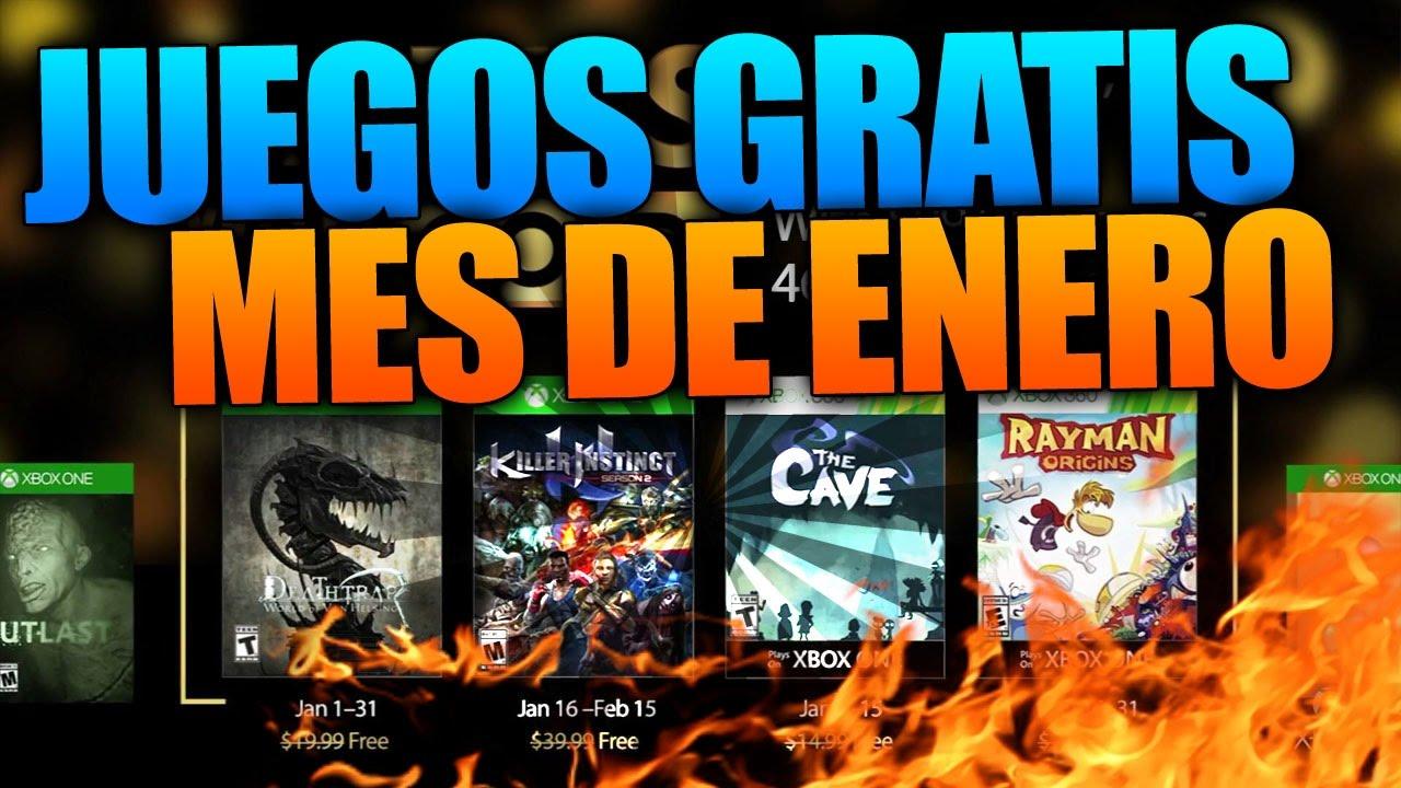 Xbox Live Juegos Gratis Mes De Enero 2017