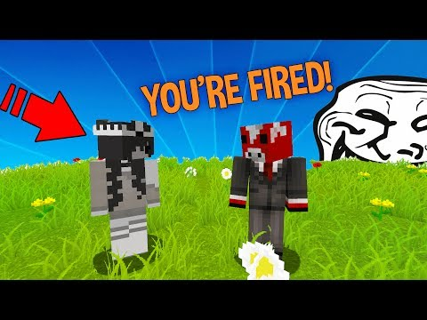 SERVER OWNER MAKES HIS MOD CRY WITH TROLL! (Trolling Server