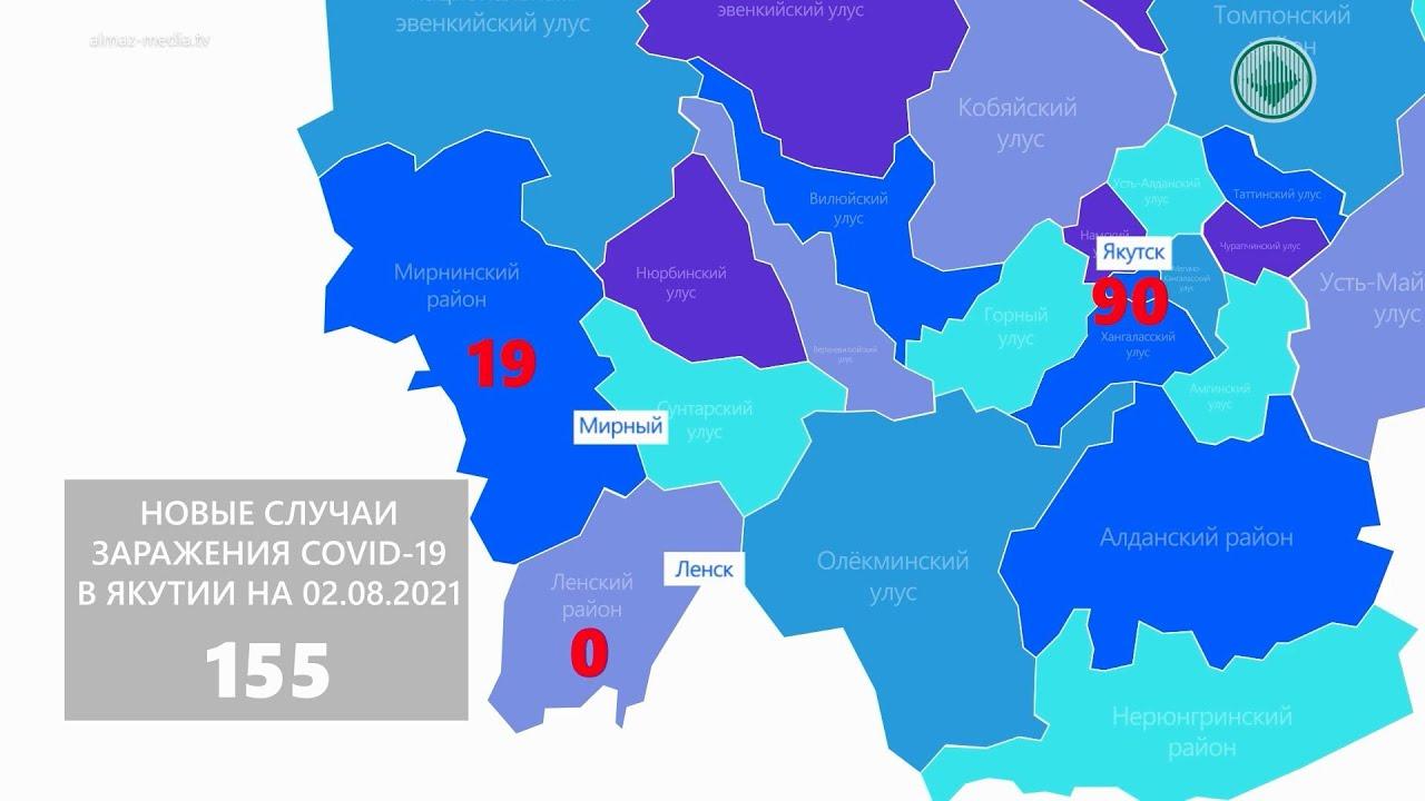 Количество заболевших в Якутии среди молодежи растет еженедельно на 25%