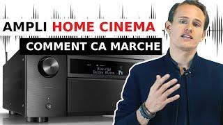 Amplificateur Home Cinema : Comment ca marche (et à quoi ca sert ) ?