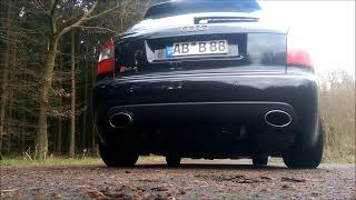 audi s4 rs4 b6 v8 sound / exhaust / klappensteuerung