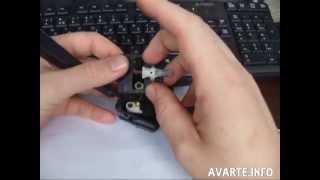 Чистка переключателя поворотов ВАЗ-2115
