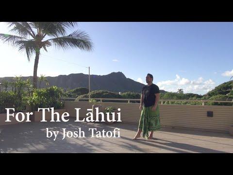 """ジョシュ・タトフィの""""フォー ザ ラフイ"""" _ """"For The Lāhui"""" by Josh Tatofi _ フラミー#47"""
