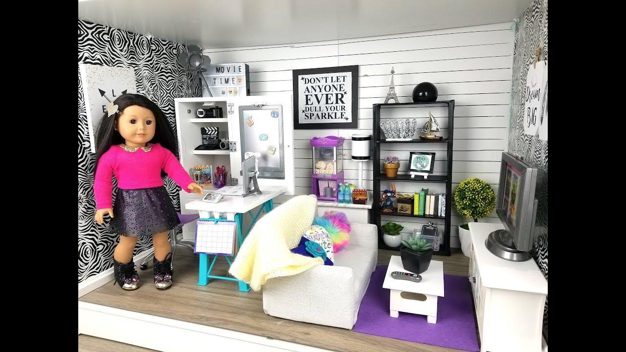 Etonnant American Girl Doll Living/Study Room