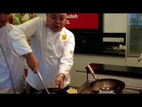 Tai Pai Tong, how to use Chinese wok
