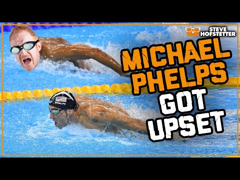 Heckler bothers Michael Phelps