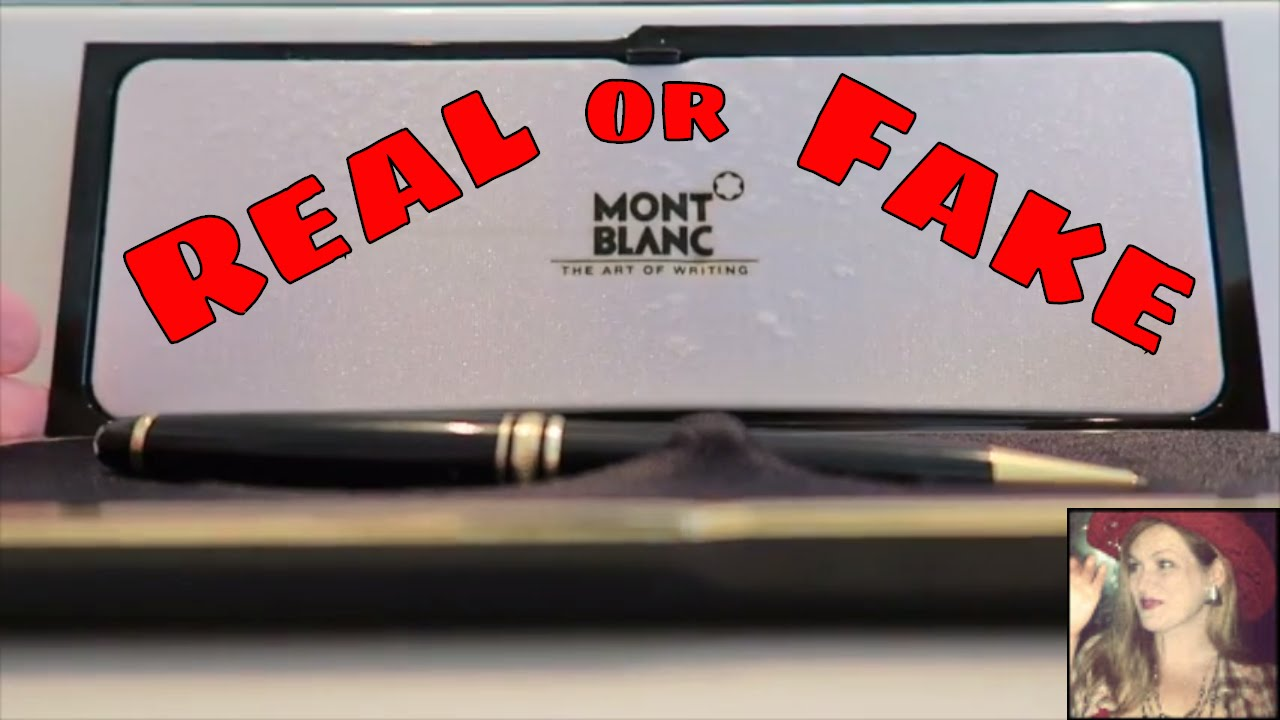 mont blanc pen serial number check