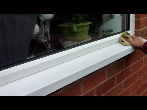 HOW TO REMOVE STAINS FROM PVC WINDOWS