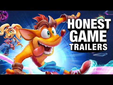 Honest Game Trailers | Crash Bandicoot 4: It's About Time
