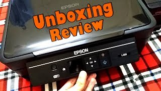 Epson L485 Wi-Fi All-in-One Ink Tank Printer Unboxing Review & Test (Best Ink Tank Printer)