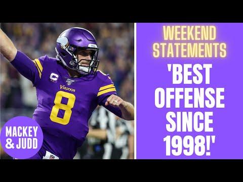 'Best Minnesota Vikings offense since 1998'