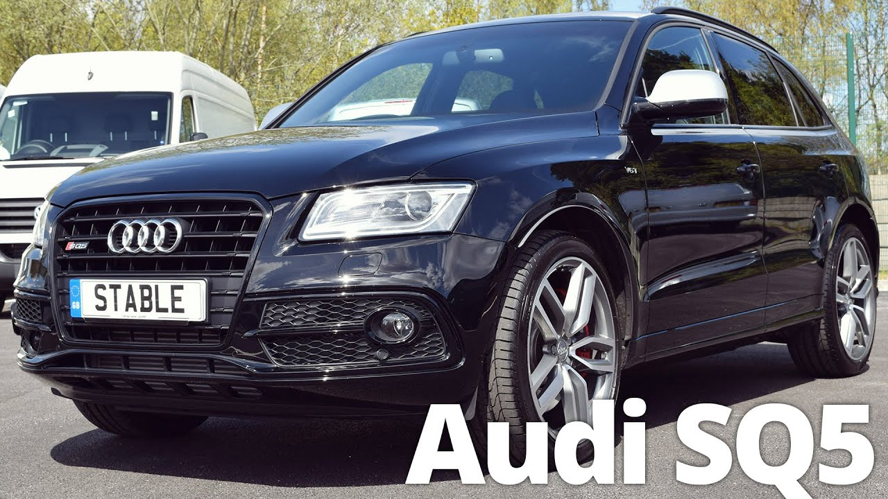 2016 audi sq5 3 0 tdi 326ps tiptronic with black styling. Black Bedroom Furniture Sets. Home Design Ideas