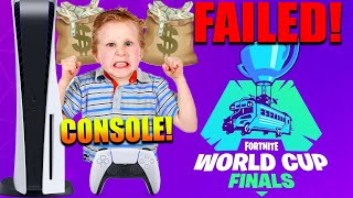 Fortnite Esports FAILED.. (150M LOST!) PS4 & XBox Players Makes Epic BILLIONS.. (THEY ARE MAD)