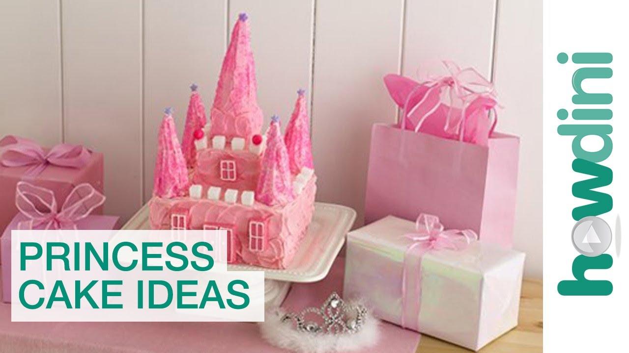 Birthday Cake Ideas The Princess Castle Cake Birthday Cake Youtube