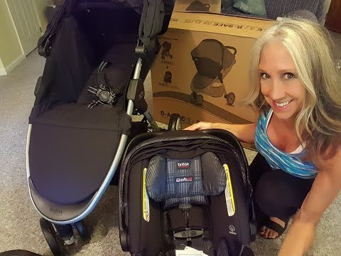Stroller Unboxing & Assembly | Britax B-Agile/B-Safe 35 Elite Travel System For Infants And Toddlers