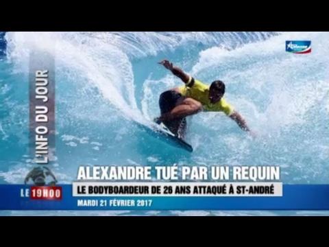 Attaque de requin à La Réunion : un bodyboardeur décédé à la rivière du Mât - 21/02/2017