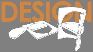 O co chodzi w DESIGNIE - krzeslo z kartki