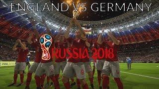 England vs Germany FIFA 2018 World Cup Final!