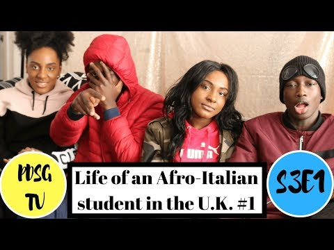 LIFE OF AN AFRO-ITALIAN STUDENT in the U.K #1.   S3E1   PDSG TV