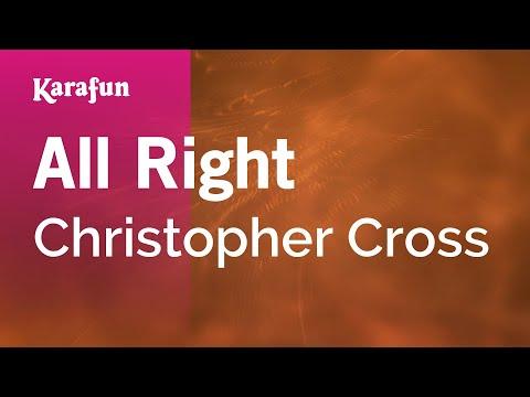 Karaoke All Right - Christopher Cross *