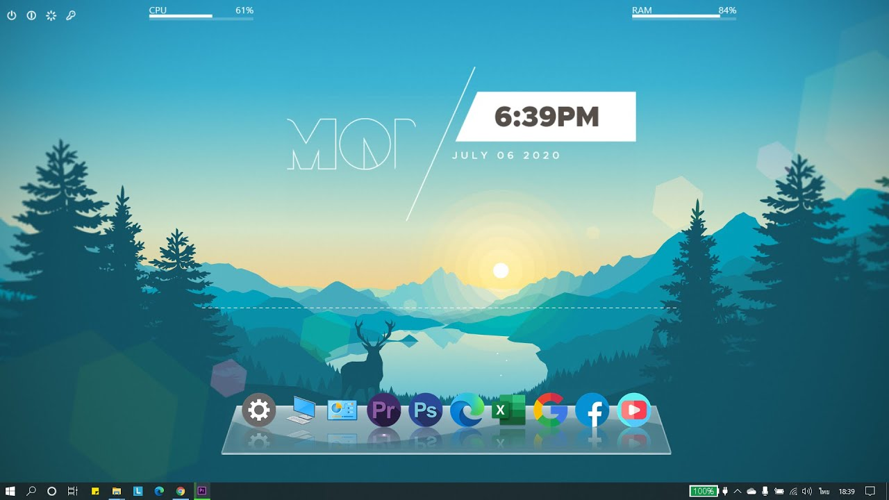 เปลี่ยนหน้าจอ Desktop Windows ให้น่าใช้มากยิ่งขึ้น