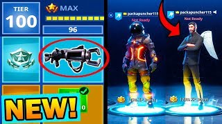 NEW TIER 100 SEASON 3 SECRET UNLOCK ITEMS! Should YOU buy the BATTLE PASS??? (Season 3)