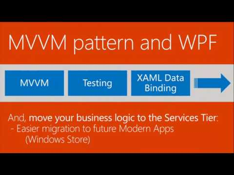 TechEd Europe 2013 Modernizing WPF Line of Business Applications