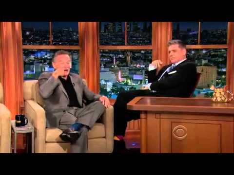 Robin Williams Craig Ferguson 16 Oct 2013