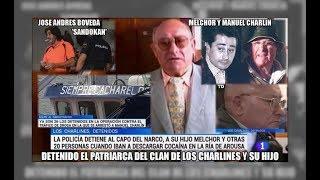 Detenidos de nuevo Manuel Charlin y su hijo por drogas - Aduanas SVA