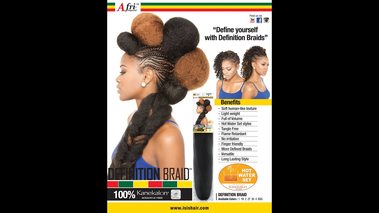 Crochet Hair Meaning : Isis Definition Braid Best Kanekalon Ive Used! - YouTube