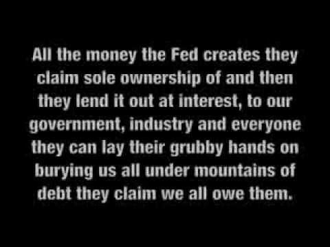 Private Bankers Control The Federal Reserve