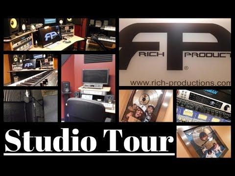 Studio Tour: Rich Productions (Atlanta, GA)   RECORDING STUDIO