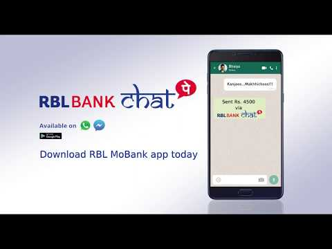 RBL Bank ChatPay - Transfer money while you chat