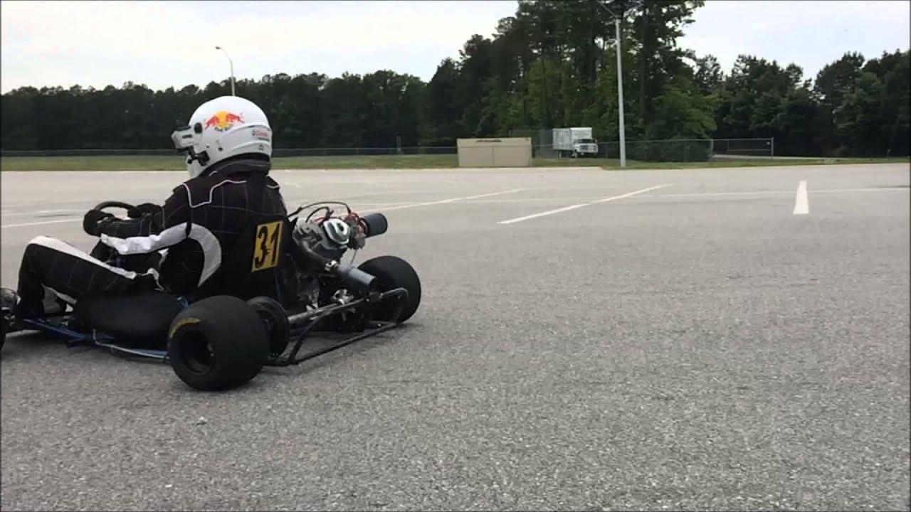 Aluminum Race Kart Axle Resonance