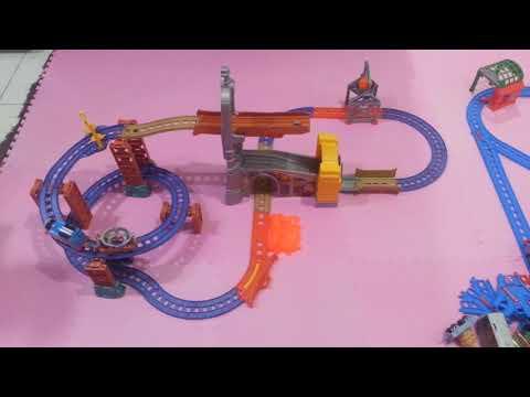 Fisher Price Thomas & Friends Motorized Railway - Steelworks Escape Set
