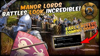 Why Manor Lords Is An INCREDIBLE Step Forwards!