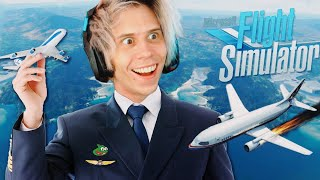 SIMULADOR DE ESCAPAR DE TU PAIS | Flight Simulator 2020