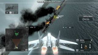 Tom Clancy's HAWX Gameplay for PC