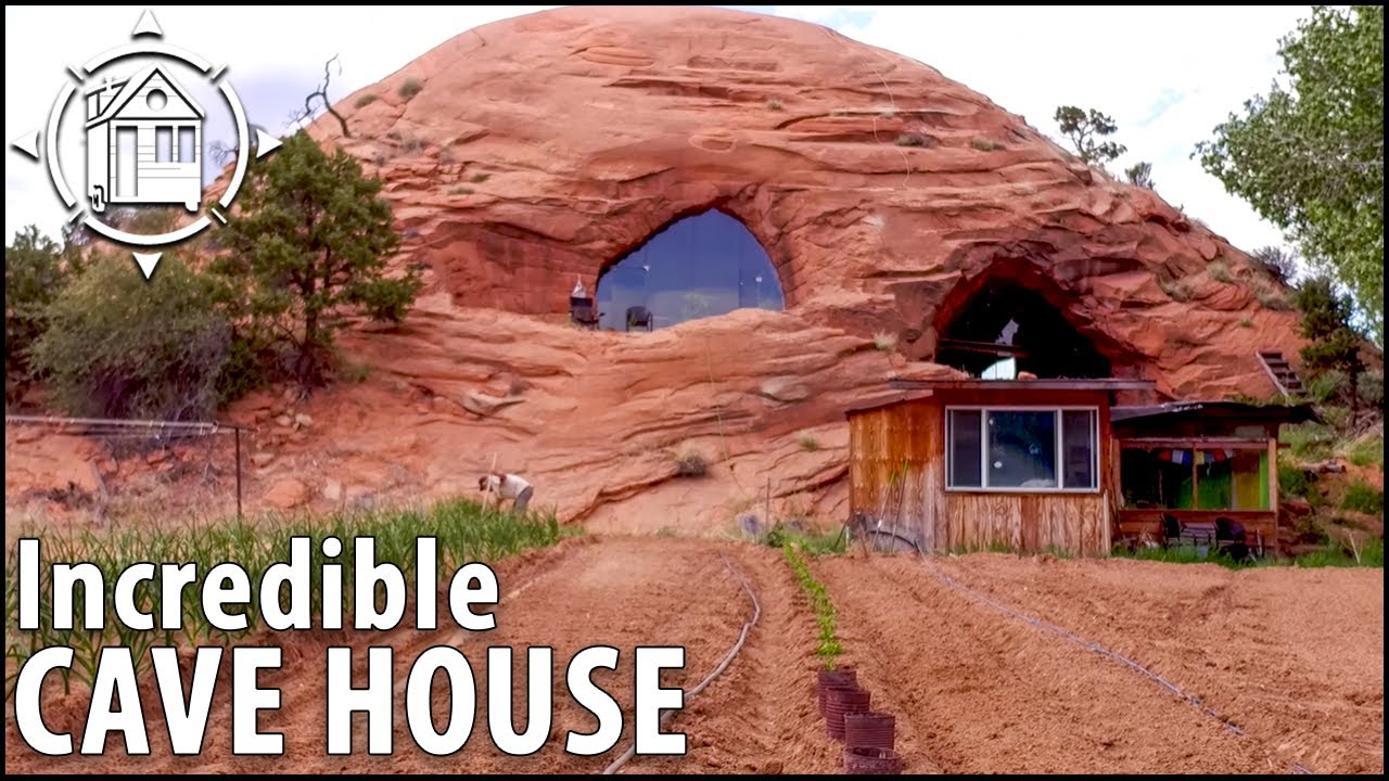 Модерната пещерна къща е живата мечта на един мъж - 5 700 кв. Фута!
