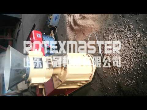 diesel engine feed pellet machine