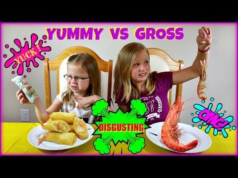 YUMMY vs GROSS FOOD CHALLENGE - Magic Box Toys Collector