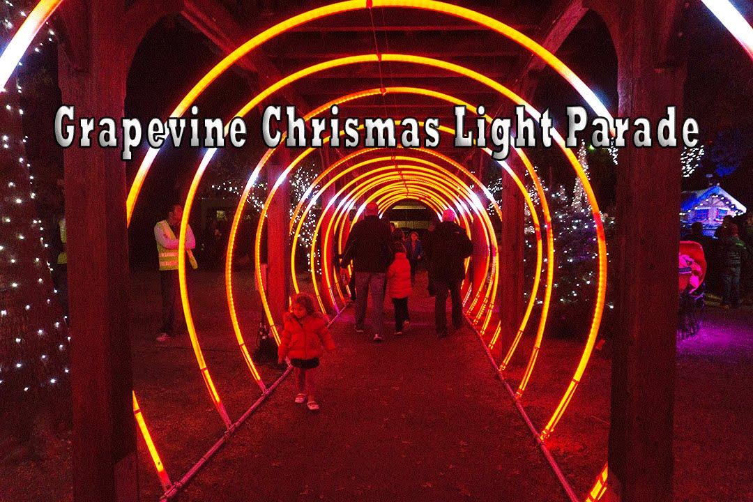 Grapevine Christmas Light Parade 2015   YouTube. Grape Vine Lighting. Home Design Ideas