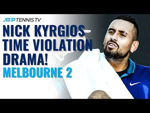 Nick Kyrgios Time Violation Drama ? | Melbourne 2 2021
