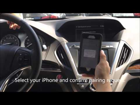 Friendly Acura - How To Pair an iPhone to Your New 2017 Acura MDX (Newburgh, NY)