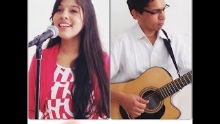Video Jeena Jeena - Badlapur   Acoustic cover by Priya Nandini & her dad Lekh Raj download MP3, 3GP, MP4, WEBM, AVI, FLV Juli 2018