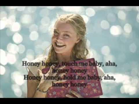 abba honey honey mamma mia lyrics youtube