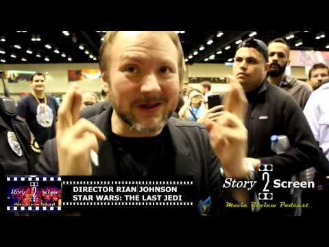 Star Wars: The Last Jedi - Director Rian Johnson Interview